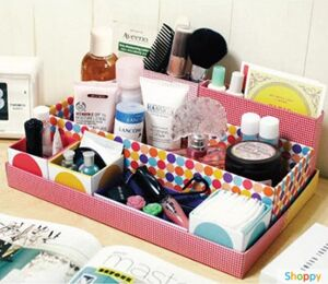 Коробка для хранения мелочи и косметики