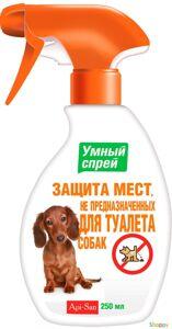 Умный спрей Защита мест НЕ предназначенных для туалета (для собак) 250 мл