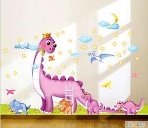 Настенный стикер Парк динозавров