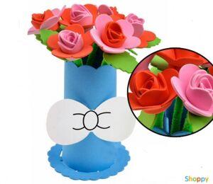 Набор сделай сам ваза с цветами Розы №4