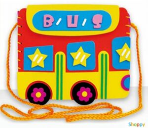 Набор сделай сам сумка Школьный автобус