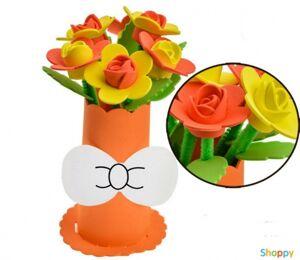 Набор сделай сам ваза с цветами Розы №3