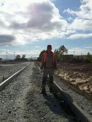 Рабочий-строитель