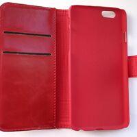 """Чехол-книжка для iPhone 6 4,7"""",  красный"""