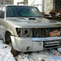 По запчастям Nissan Patrol, ZD30, кузов Y61, 2001 год