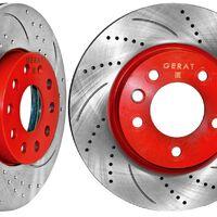 Перфорированные тормозные диски для  TLC80-100-200 в наличии