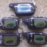 Tomahawk разные поколения сигнализация брелки тамагавк