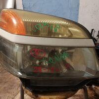 Бампер с губой/фары ксенон/капот/крыло левое на Voxy AZR60