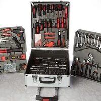 Набор инструментов ключей 187 предметов в чемодане