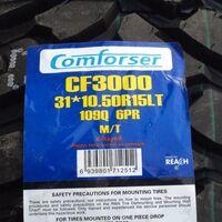 """""""Гараж65"""" В Наличии 31x10.5R15 LT Comforser , Triangle"""