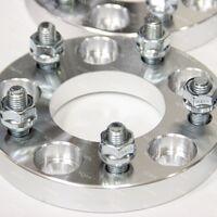 Проставки для колес (ступичные) 5х100, +25мм,  4 штуки