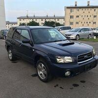 Subaru Forester SG5 2002 синий 35J