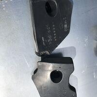 Защита днища кузова задняя Toyota Mark X GRX125/121/120