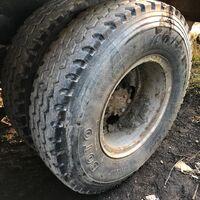 колеса с дисками на фусо ,10/00R20/ 18PR