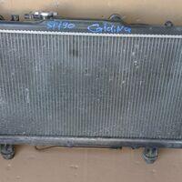 Радиатор охлаждения Toyota Caldina 3S-FE  ST19#  96-02