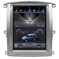 Магнитола в стиле Tesla ToyotaLandCruiser100 (2002-2007), LexusLX470