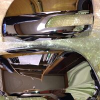 Крышки Зеркала Хром  LAND Cruiser 200 Prado 150