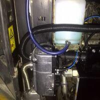 подогреватель двигателя Hydronic D5-24В(б/у)+таймер *с установкой