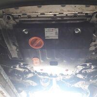 Защита картера двигателя на Honda Fit Shuttle