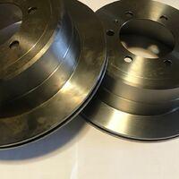 Тормозные диски задние TLC 80