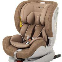Автокресло Torego Drive Isofix 0-25 кг., коричневый, новое, в наличии