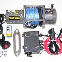 Лебедка Electric Winch 12v 6000 LBS/2722кг Кевлар