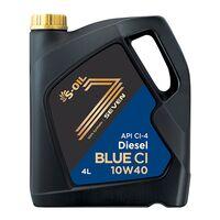 моторное масло 10W-40 для дизельного двигателя с сажевым фильтром