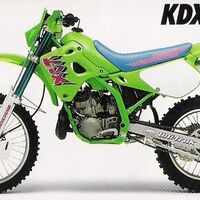 Kawasaki KDX250SR 1994 г.в. по запчастям