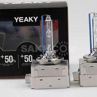 Штатные лампы ксенон Yeaky D1S +50%