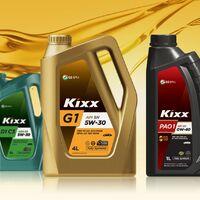 Моторные и трансмиссионные масла GS OIL KIXX