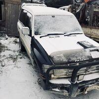 по запчастям м-паджеро 1997г 4м40