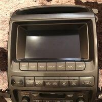 Штатный монитор от Lexus GX 470
