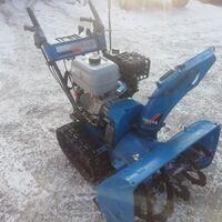 Замена двигателей на снегороторах