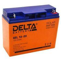 Аккумулятор по технологии AGM+GEL GEL 12-20 Delta 20А/ч
