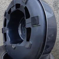 Колпак (кейс) запасного колеса от Escudo TD54W/ Vitara