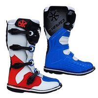 Мотоботы RYO Racing MX3, белый/синий/красный