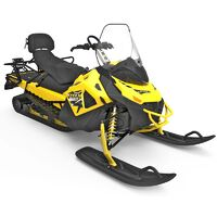Ремонт снегоходов мотоциклов. Пластик.