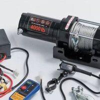 Лебедка Electric Winch 12v 4000 LBS/1814 кг (кевлар)