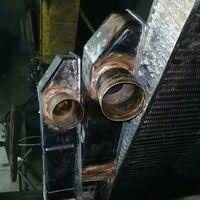 Ремонт радиаторов для грузовых авто.  Восстановление клемм на акб.
