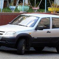 Chevrolet Niva в разбор