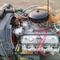 Двигатель на ГАЗ- 66