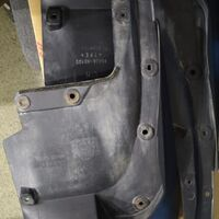 Продам задние брызговики на LAND 200 под губу заднего бампера