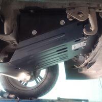Защита двигателя на Toyota Land Cruiser 100
