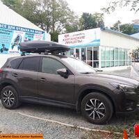 Автобокс LUX IRBIS 175 черный матовый 450 л (175х85х40см)