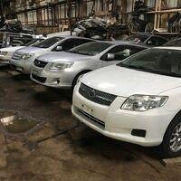 Автомобили из Японии по запчастям