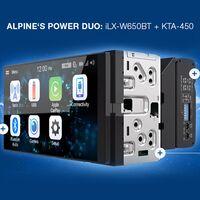 Магнитола Alpine iLX-W650BT