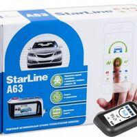 """Сигнализация Starline A63 от ФС """"Угона.нет"""""""