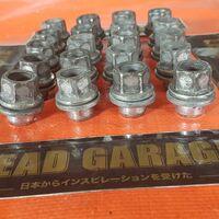 Комплект колесных гаек шаг резьбы 12х1.5 Toyota. Japan. #05