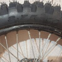 Переднее колесо 2.75 17