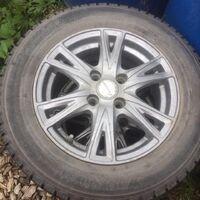 4 колеса на литых дисках exceeder + yokohama iceguard ig20 185/65 r14